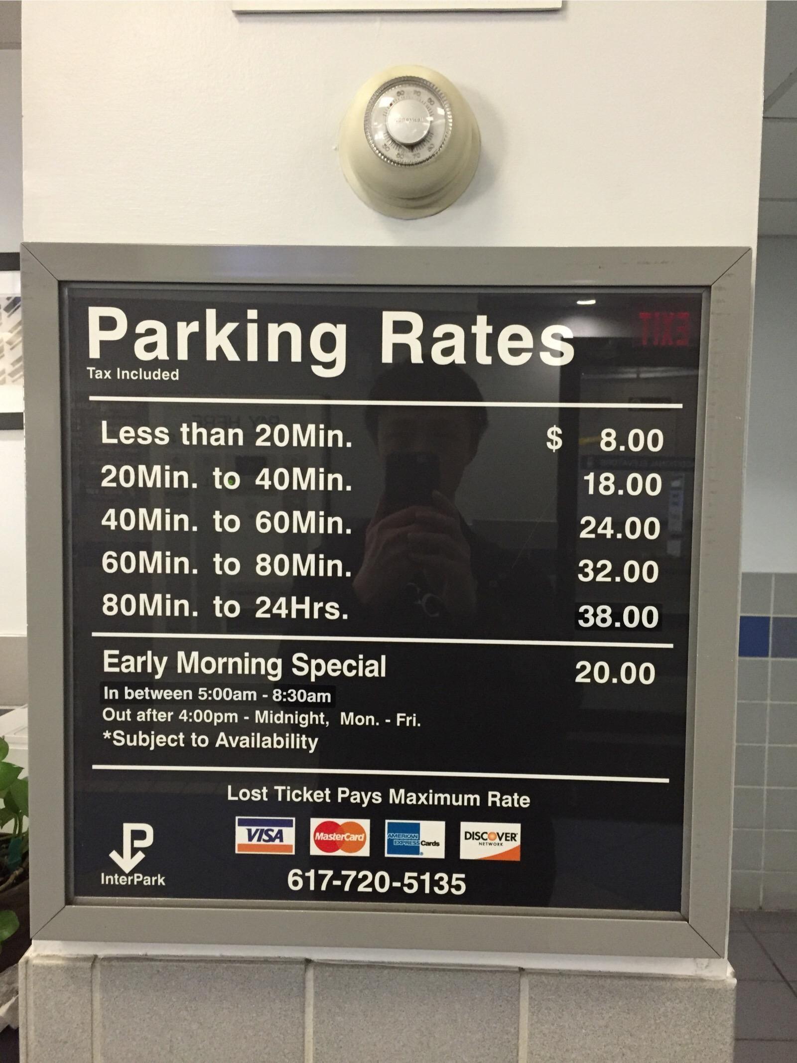 Harbor Garage - Parkplatz in Boston   ParkMe
