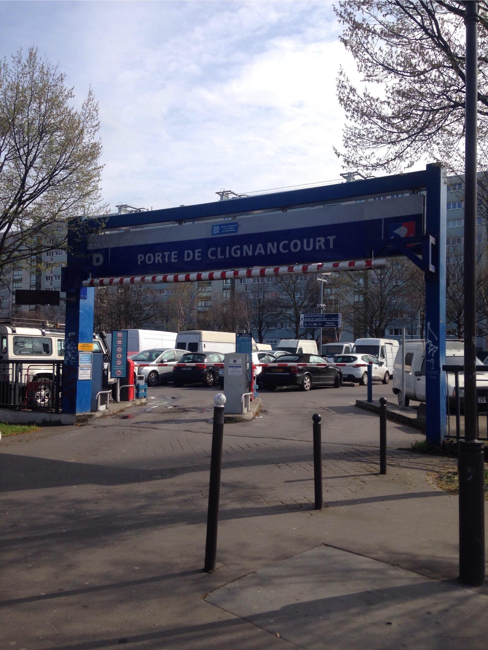 Porte de clignancourt parking in paris parkme - Parking porte d orleans paris ...