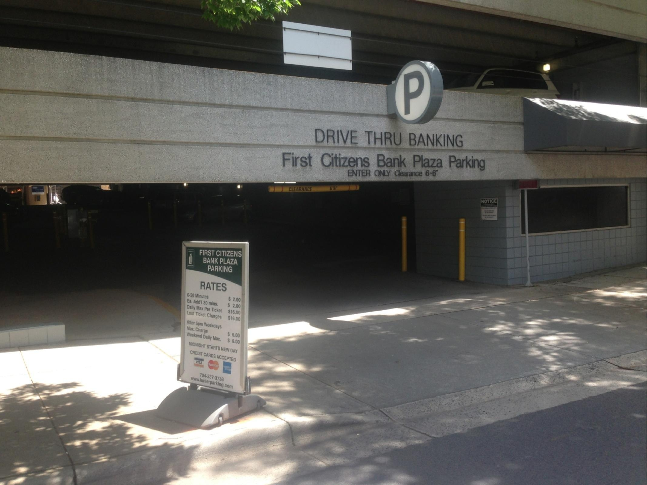 First Citizens Bank Plaza Parking - Parking in Charlotte