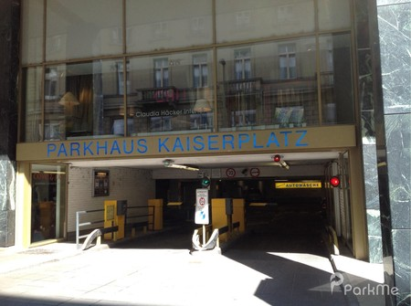 Parkhaus Kaiserplatz Frankfurt