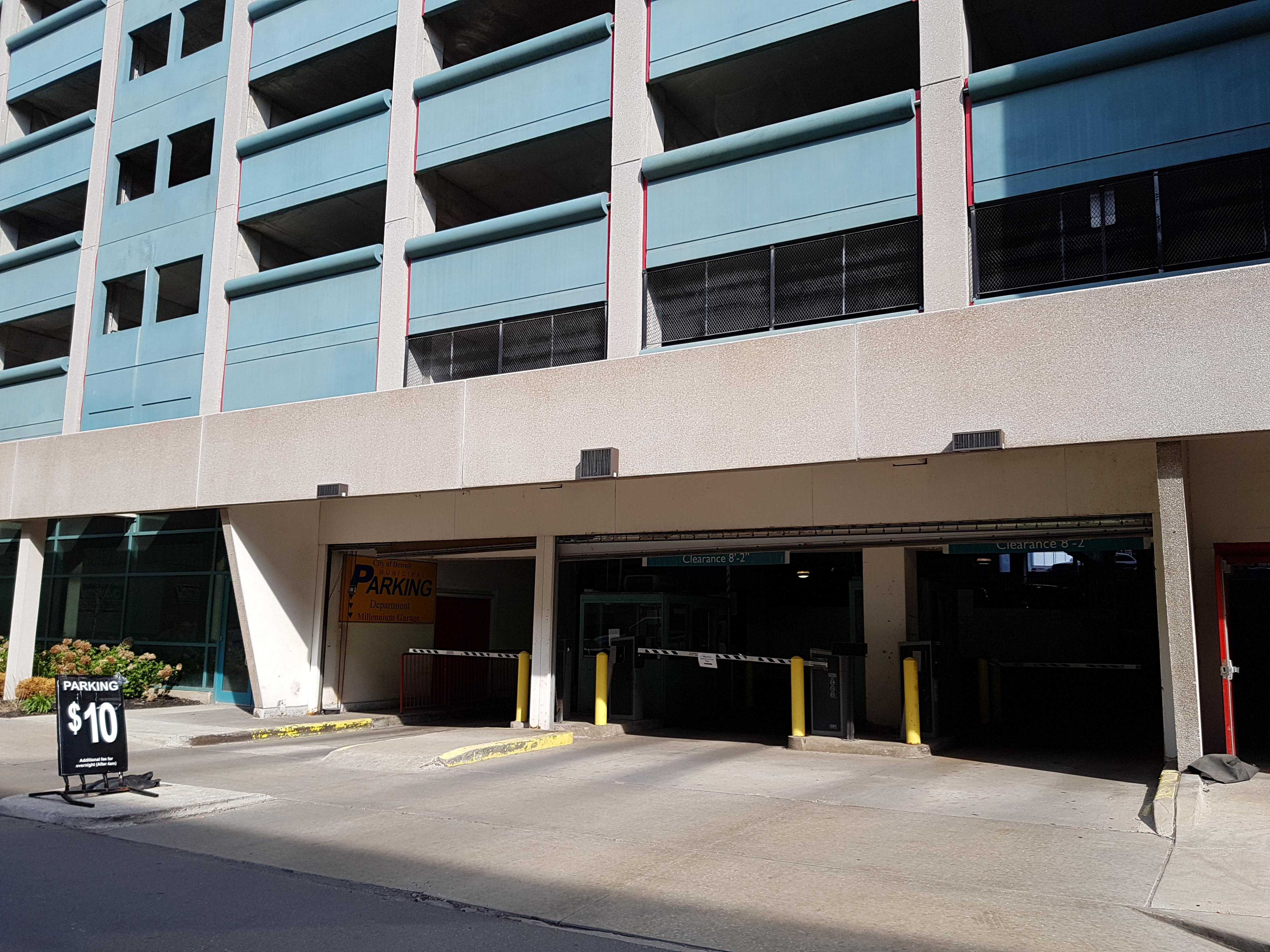 Millennium Garage Parking In Detroit Parkme Make Your Own Beautiful  HD Wallpapers, Images Over 1000+ [ralydesign.ml]