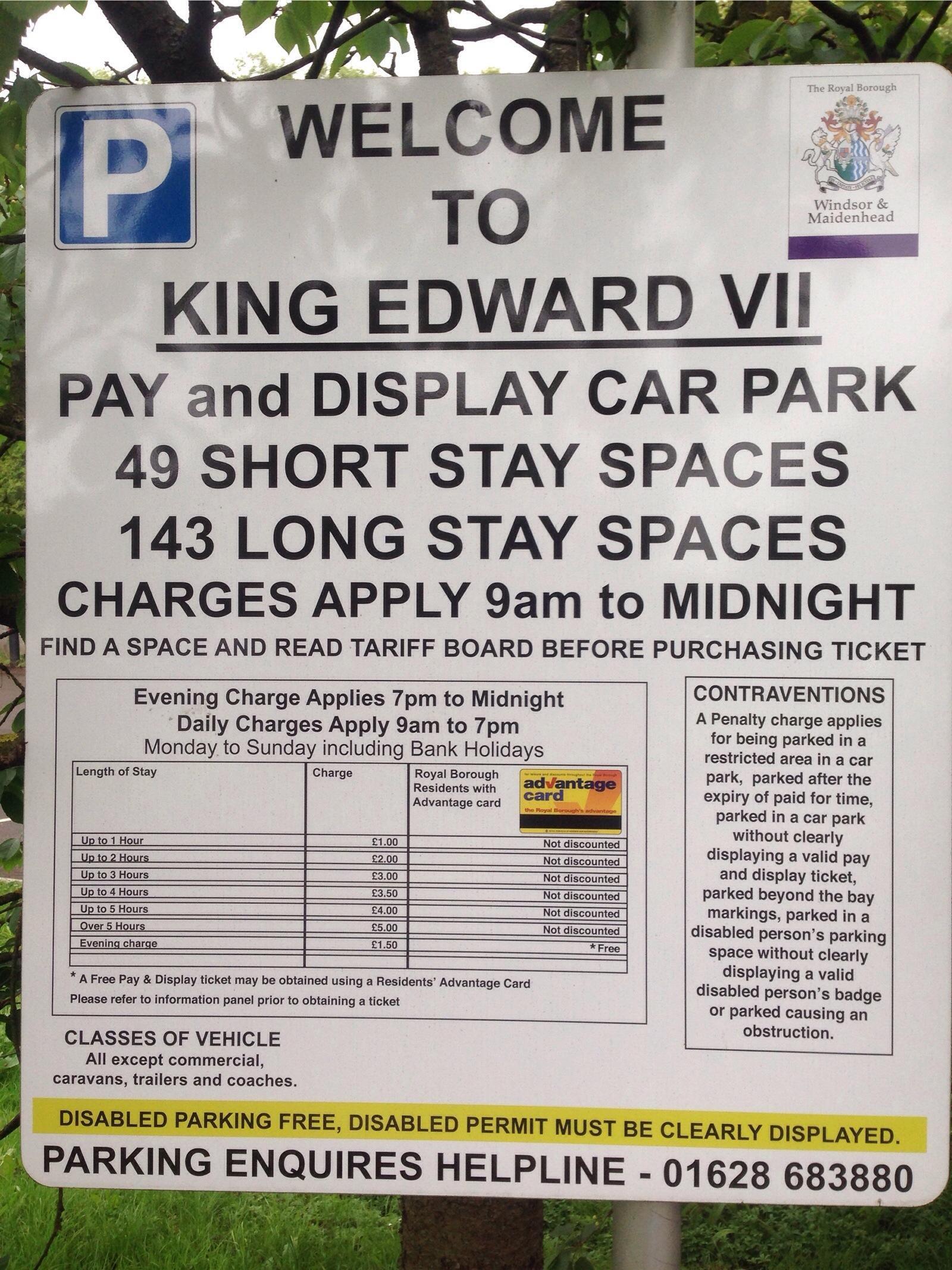 Windsor Parking King Edward VII Car Park 5