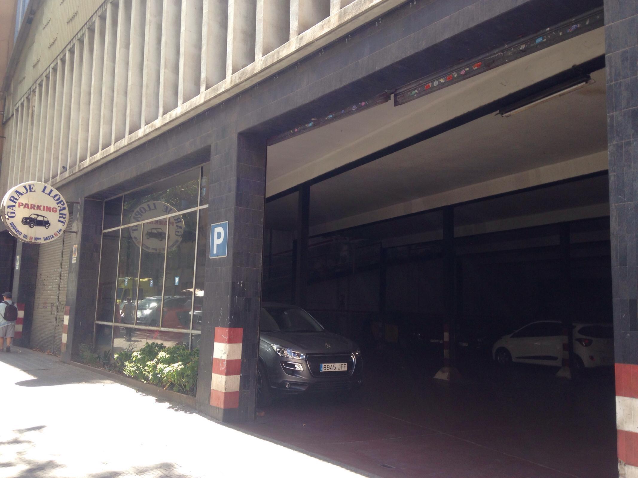 garaje llopart aparcamiento en barcelona parkme