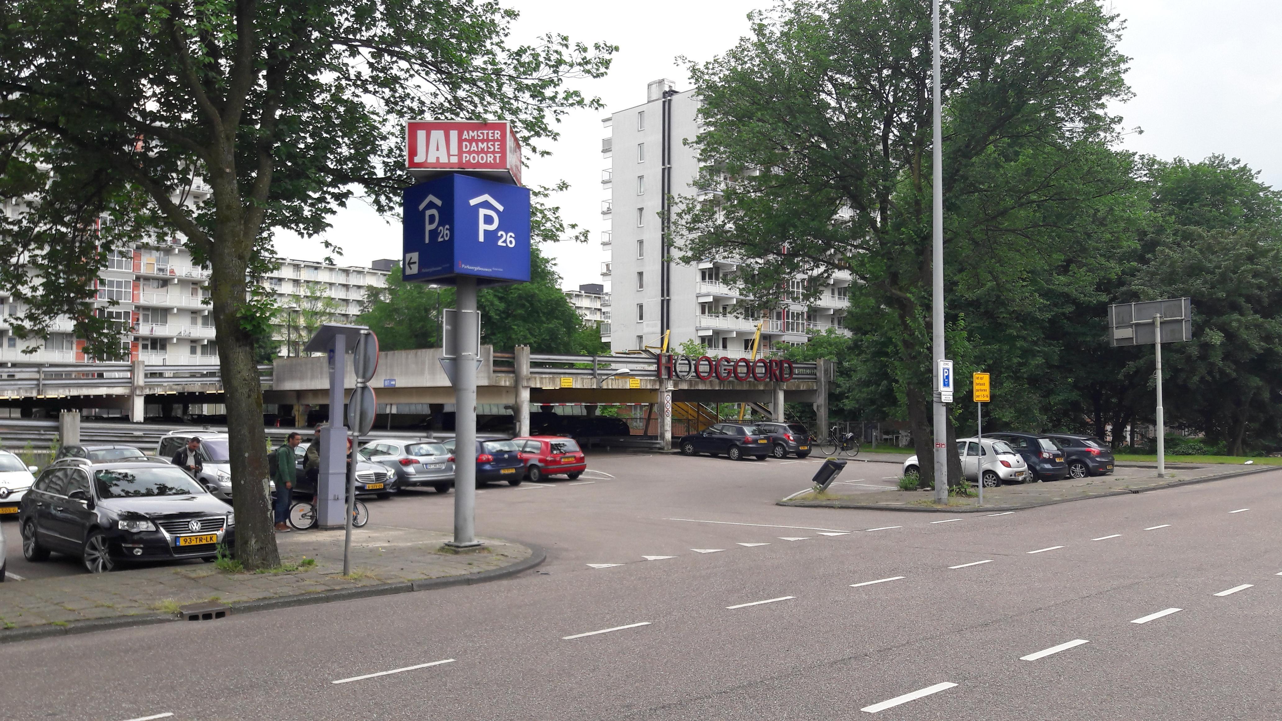 Amsterdamse poort p26 parking in amsterdam zuidoost parkme for Amsterdam poort