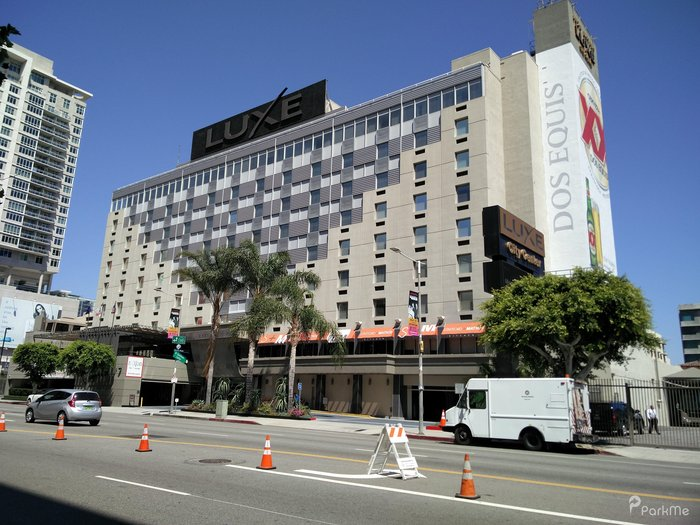 Luxe City Center Hotel Los Angeles Ca Parking