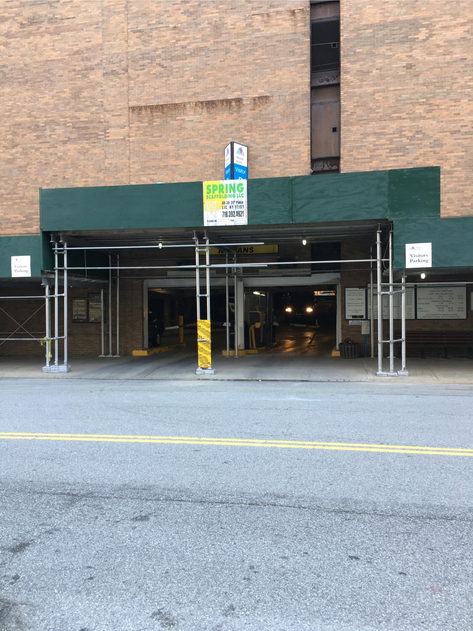 Mount Sinai Medical Center Parking