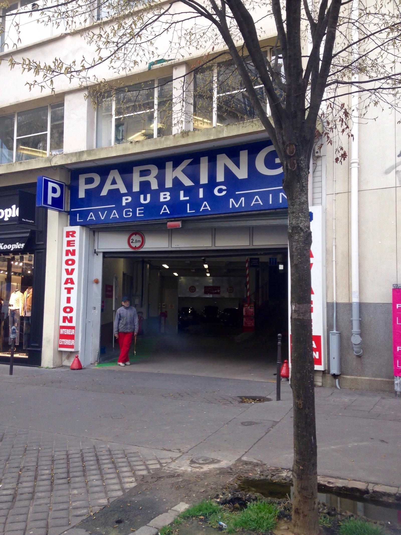 19 rue de passy garage parking in paris parkme. Black Bedroom Furniture Sets. Home Design Ideas