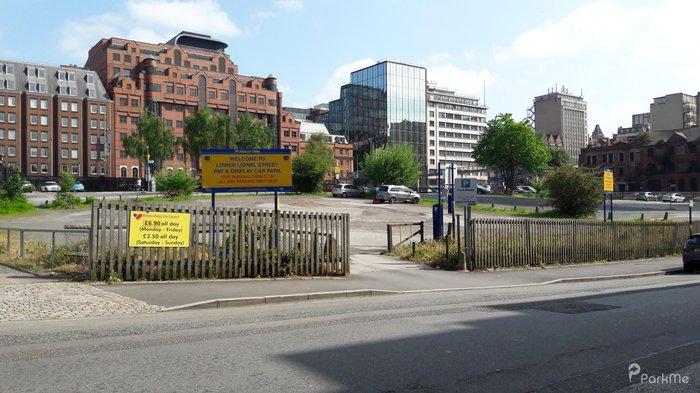 Lower Lionel Street Car Park