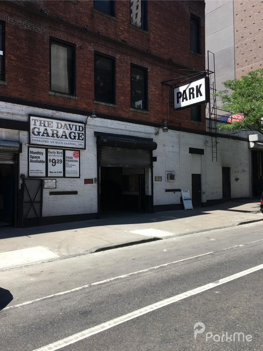 The david garage parking in new york parkme for New york parking garage