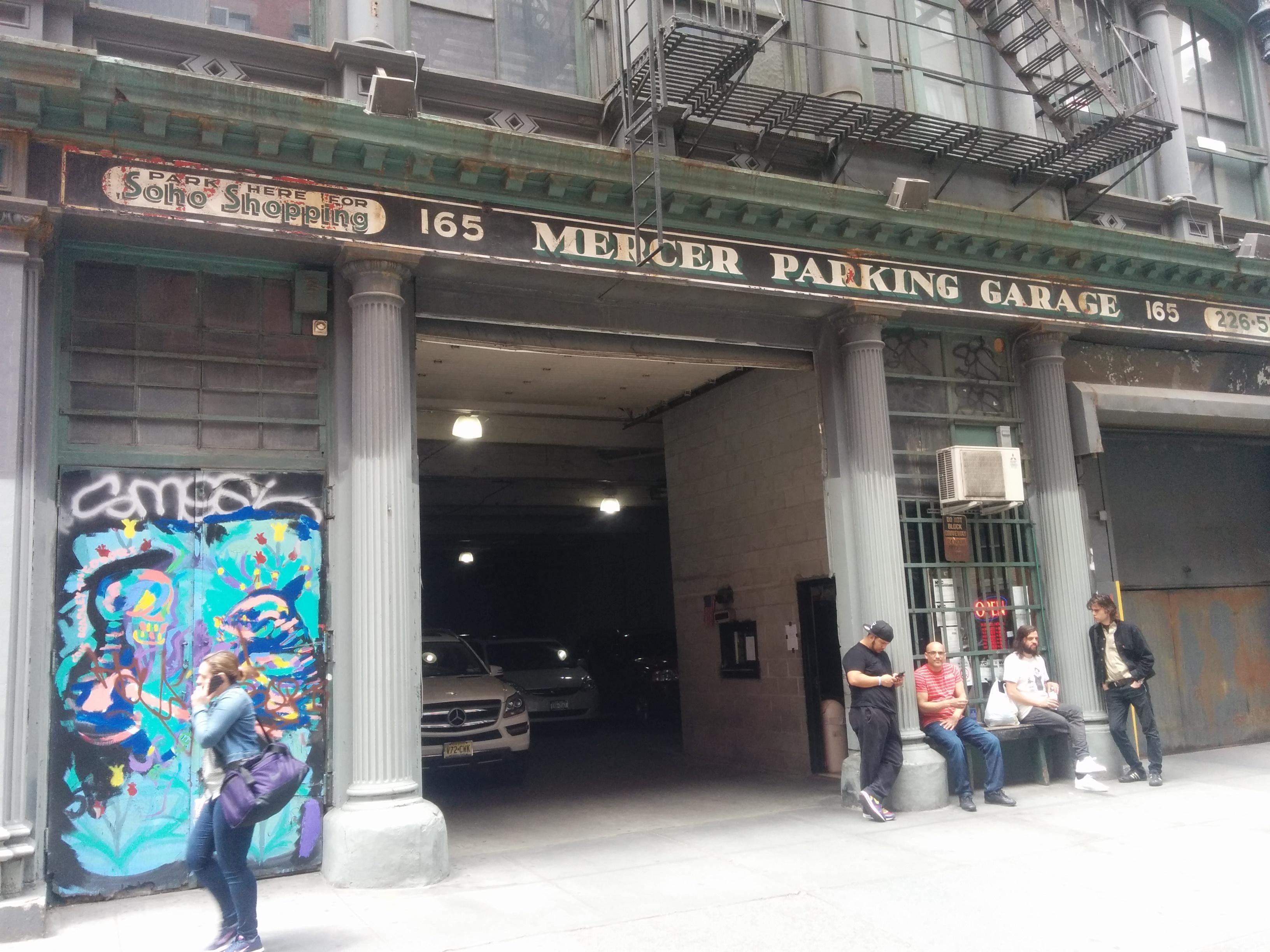 Mercer parking garage parking in new york parkme for New york parking garage