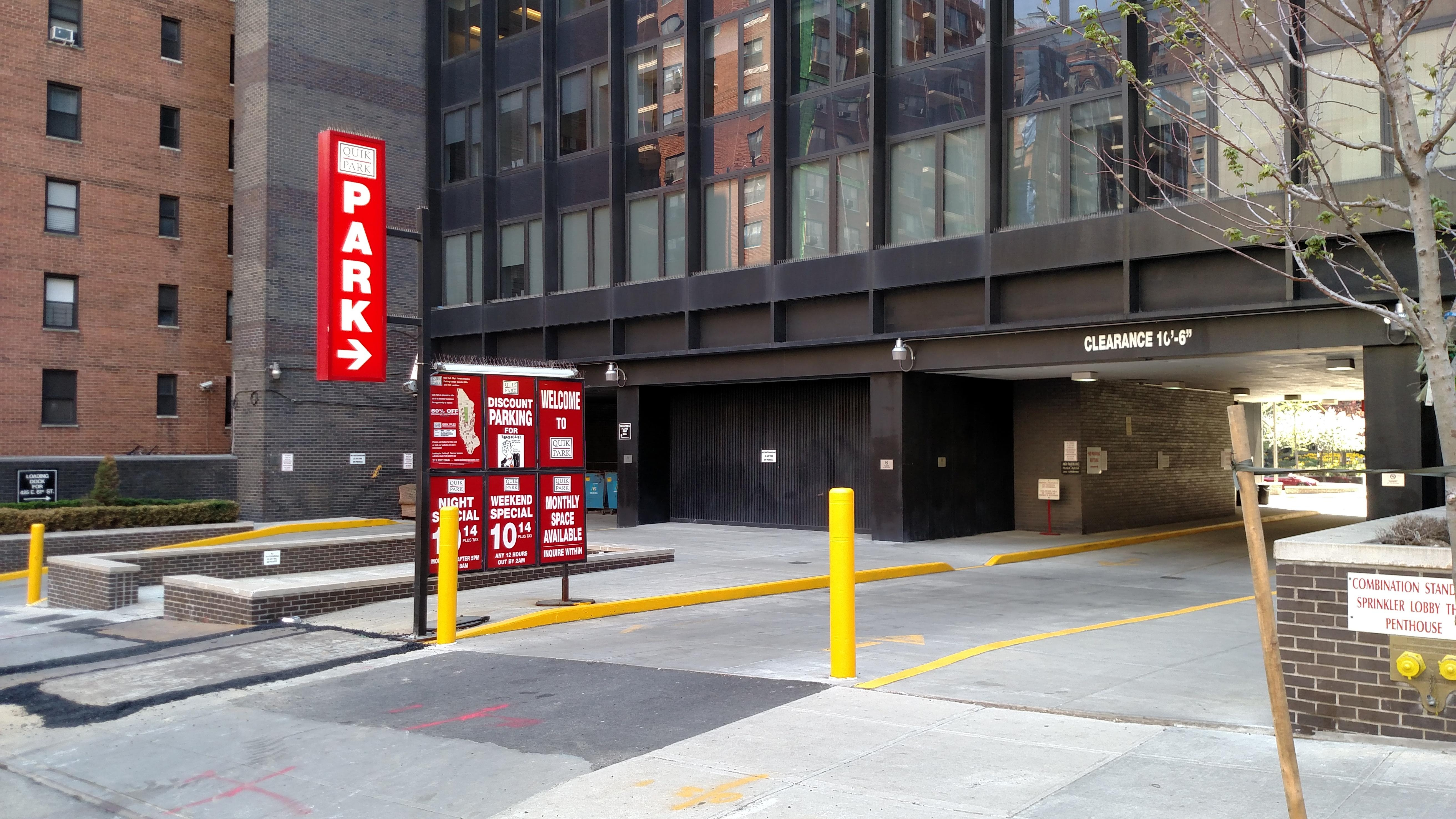 425 e 61st st garage parking in new york parkme for New york city parking garage