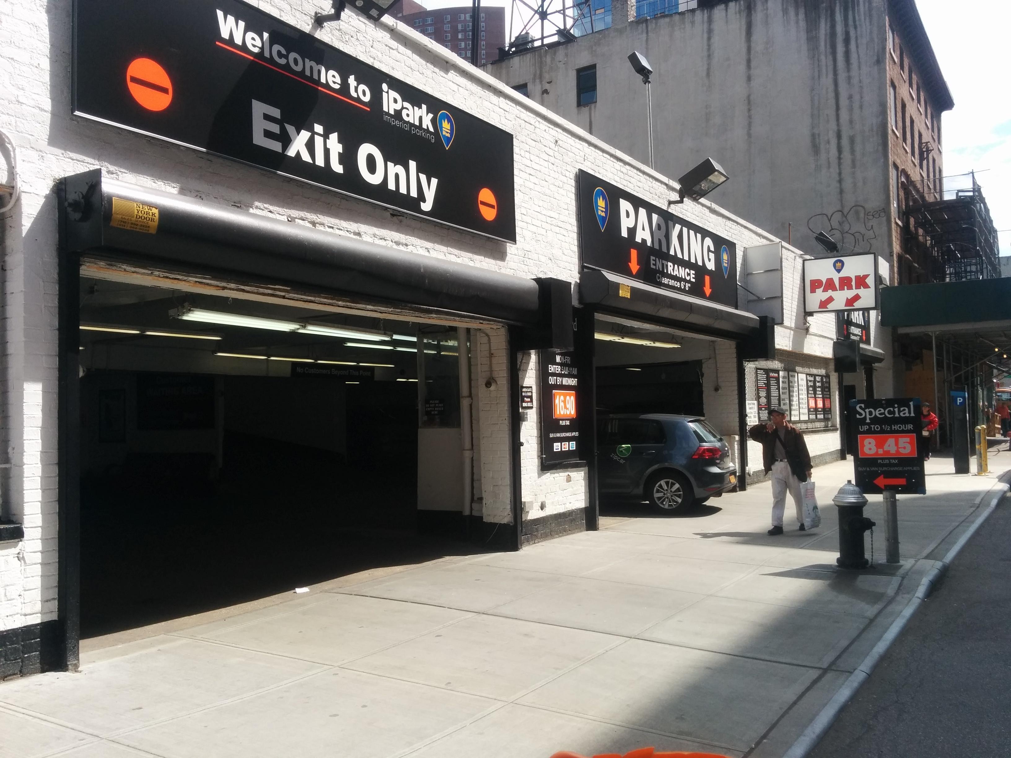 44 elizabeth st garage parking in new york parkme for New york parking garage