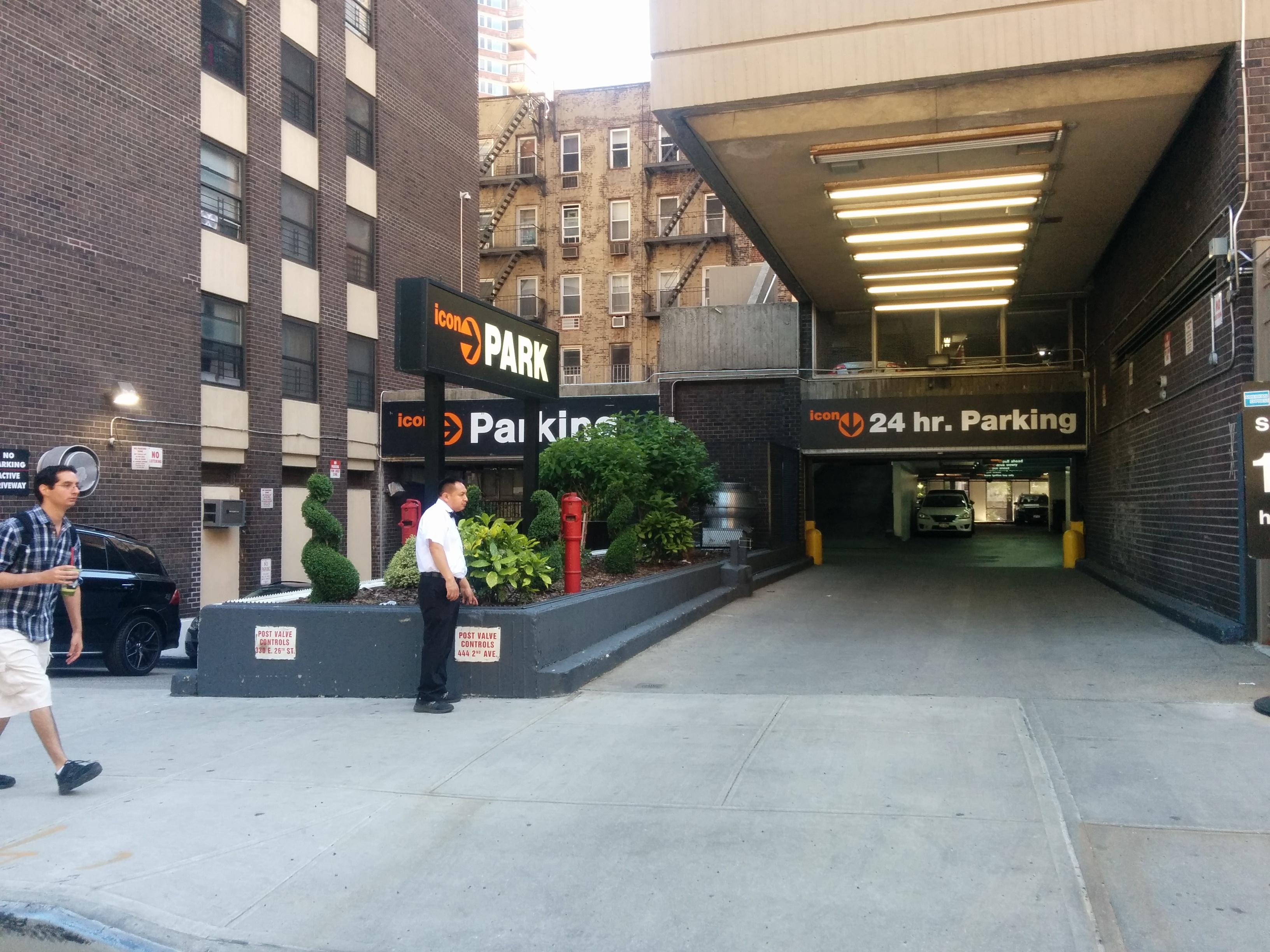 South plaza garage parking in new york parkme for Ny city parking garages