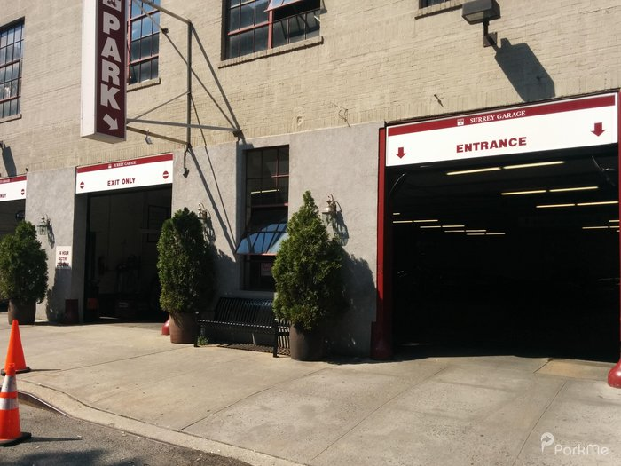Surrey garage parking in new york parkme for New york parking garage