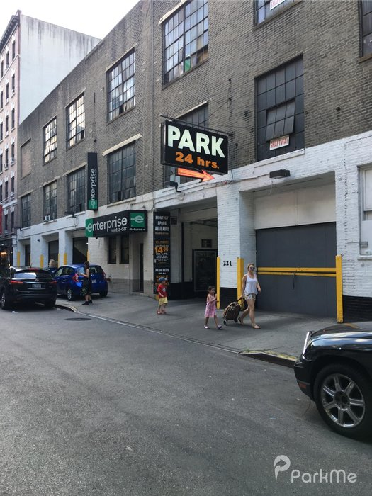 221 thompson st garage parking in new york parkme for Ny city parking garages