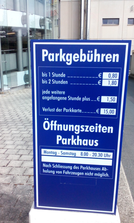 City Galerie Parkplatz In Wolfsburg Parkme