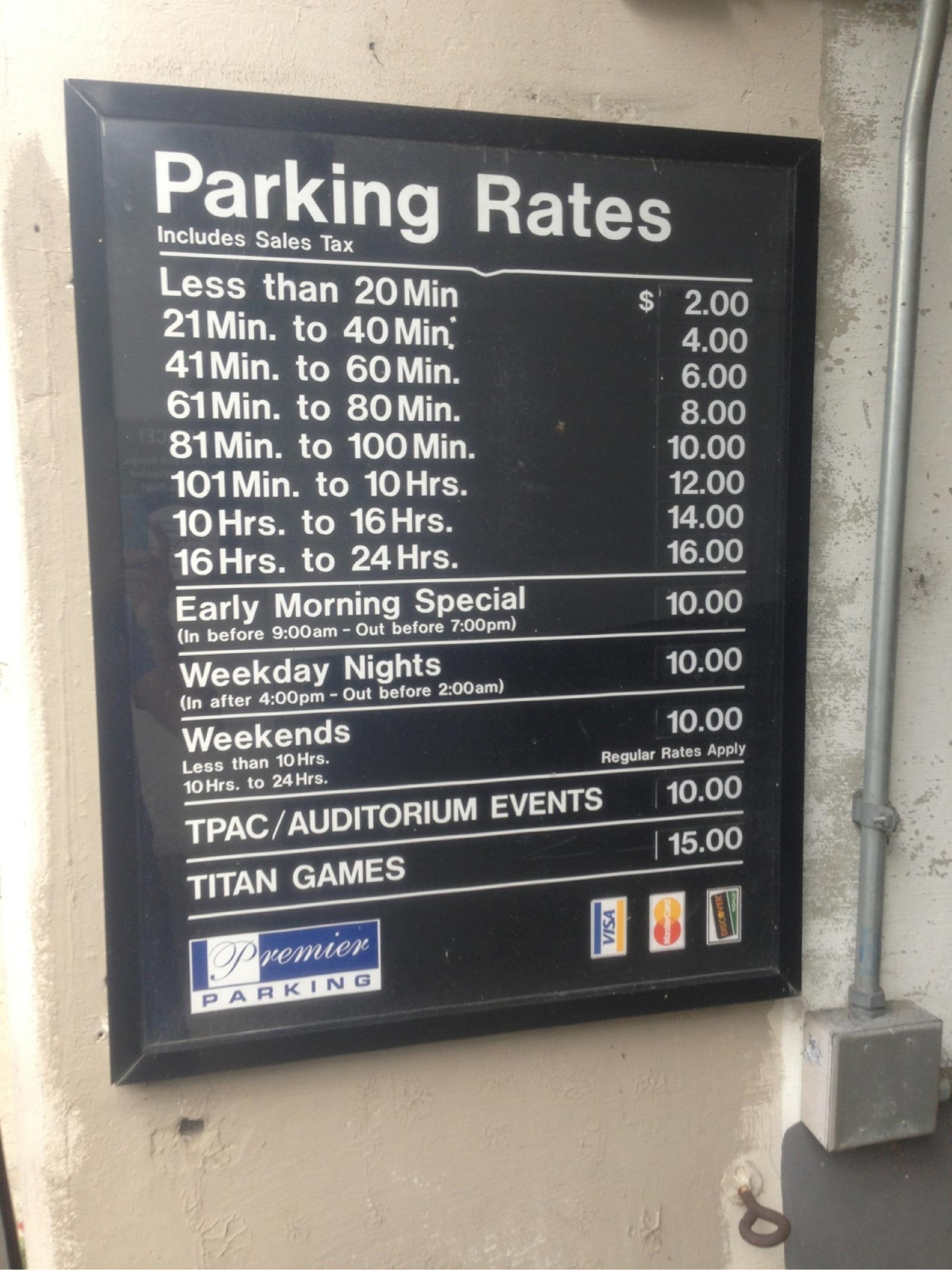 Public Square Garage Parking