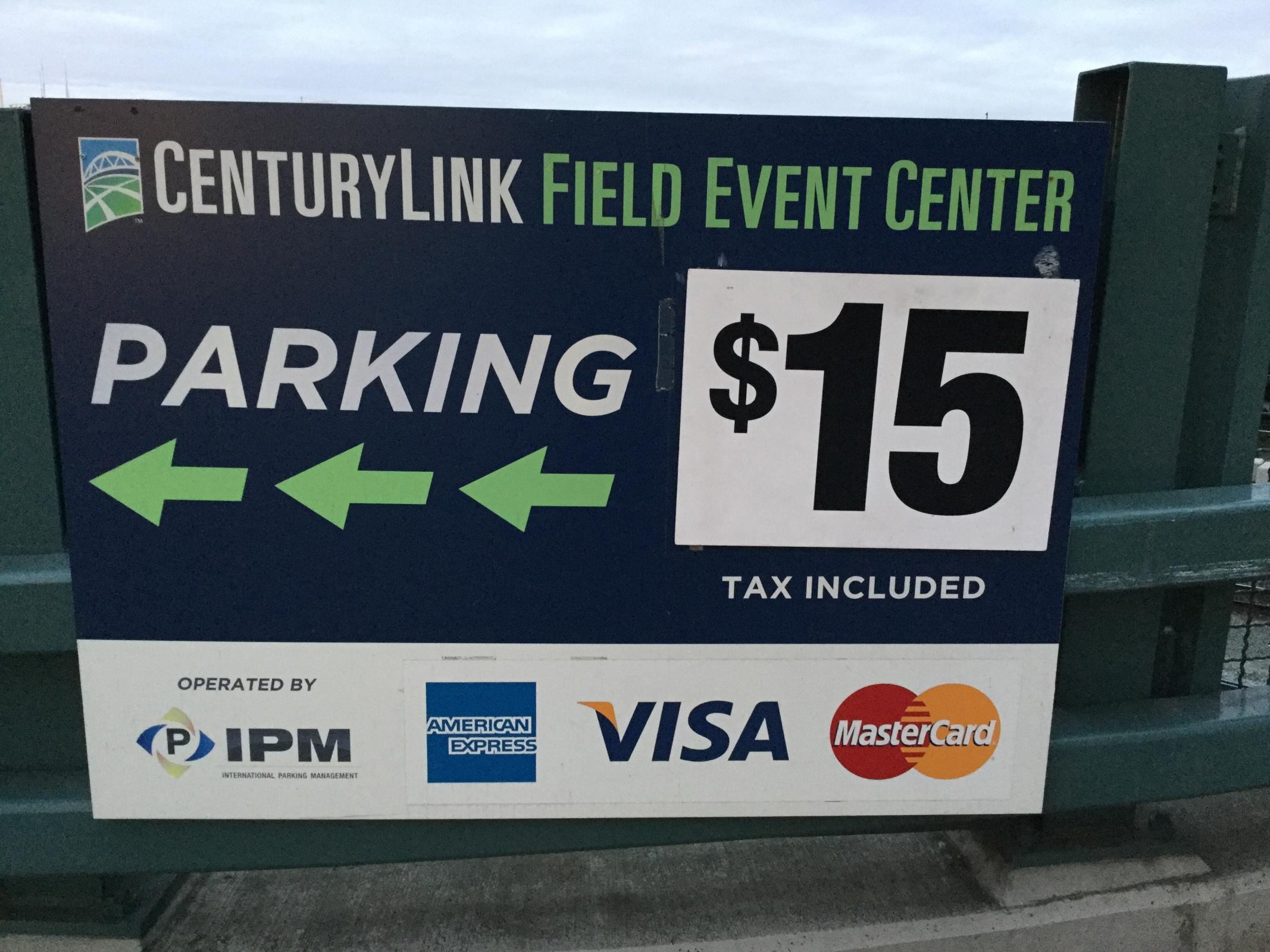 Seattle Tax Rate >> CenturyLink Field Event Center - Parking in Seattle | ParkMe