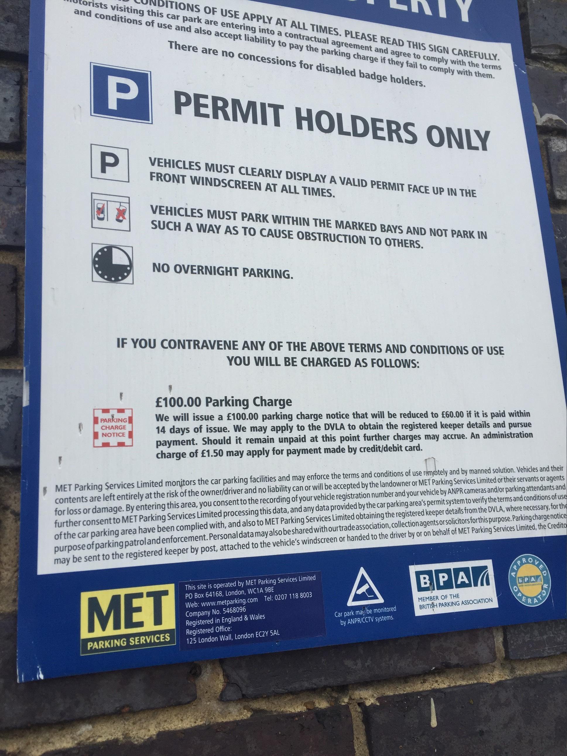 Met Parking Services >> 2 Michael Road Parking Parking In London Parkme