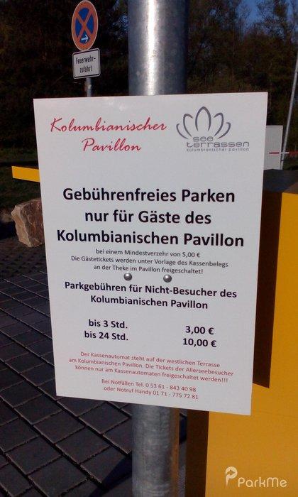 Kolumbianischer Pavillon - Parking in Wolfsburg   ParkMe