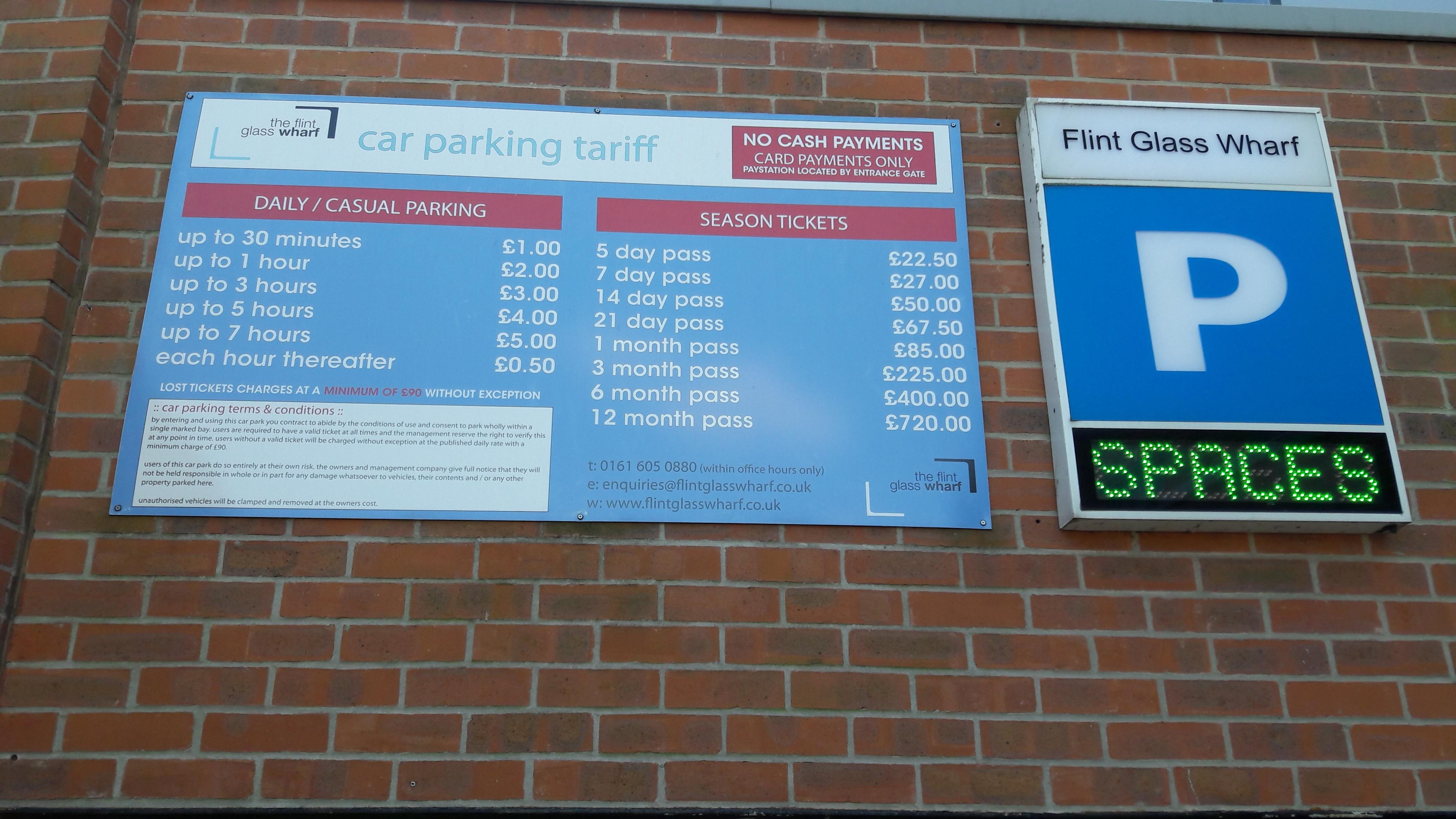 Flint Glass Wharf Parking In Manchester Parkme