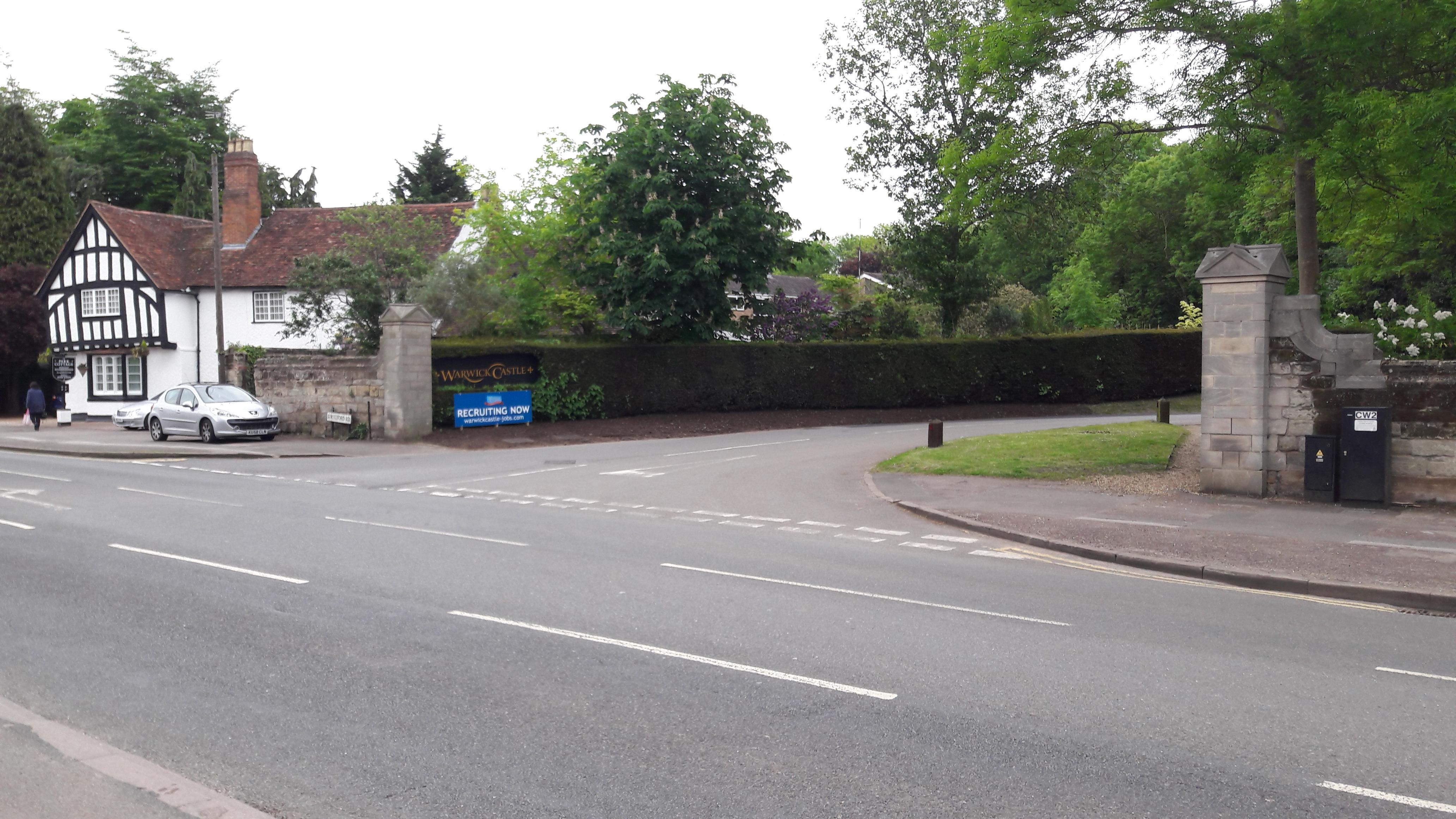 Stratford Road Warwick Car Park