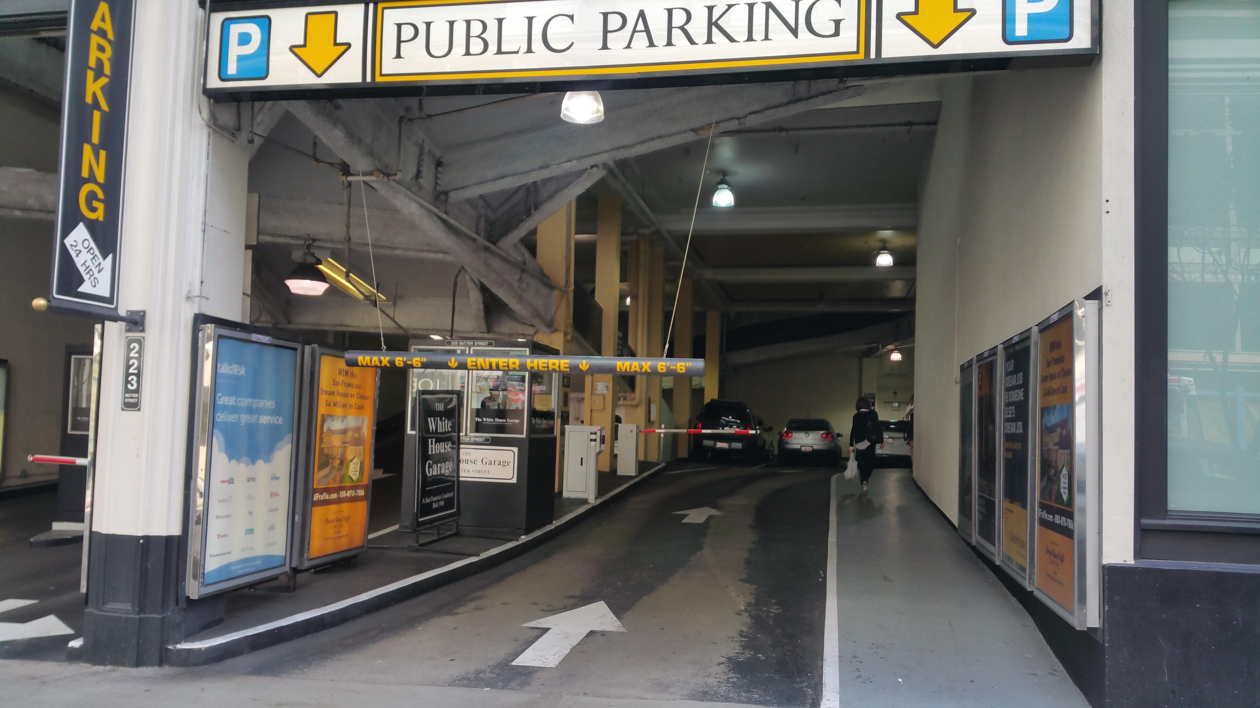 Parking dating san francisco