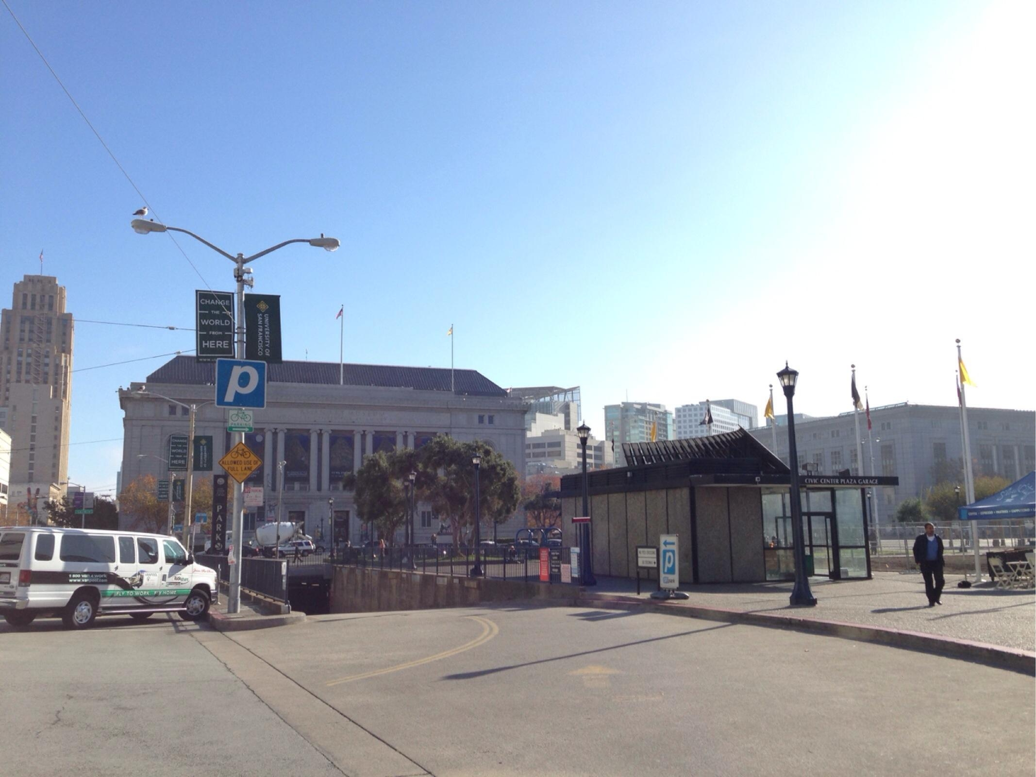 Civic Center Garage: Civic Center Garage - Parking In San Francisco