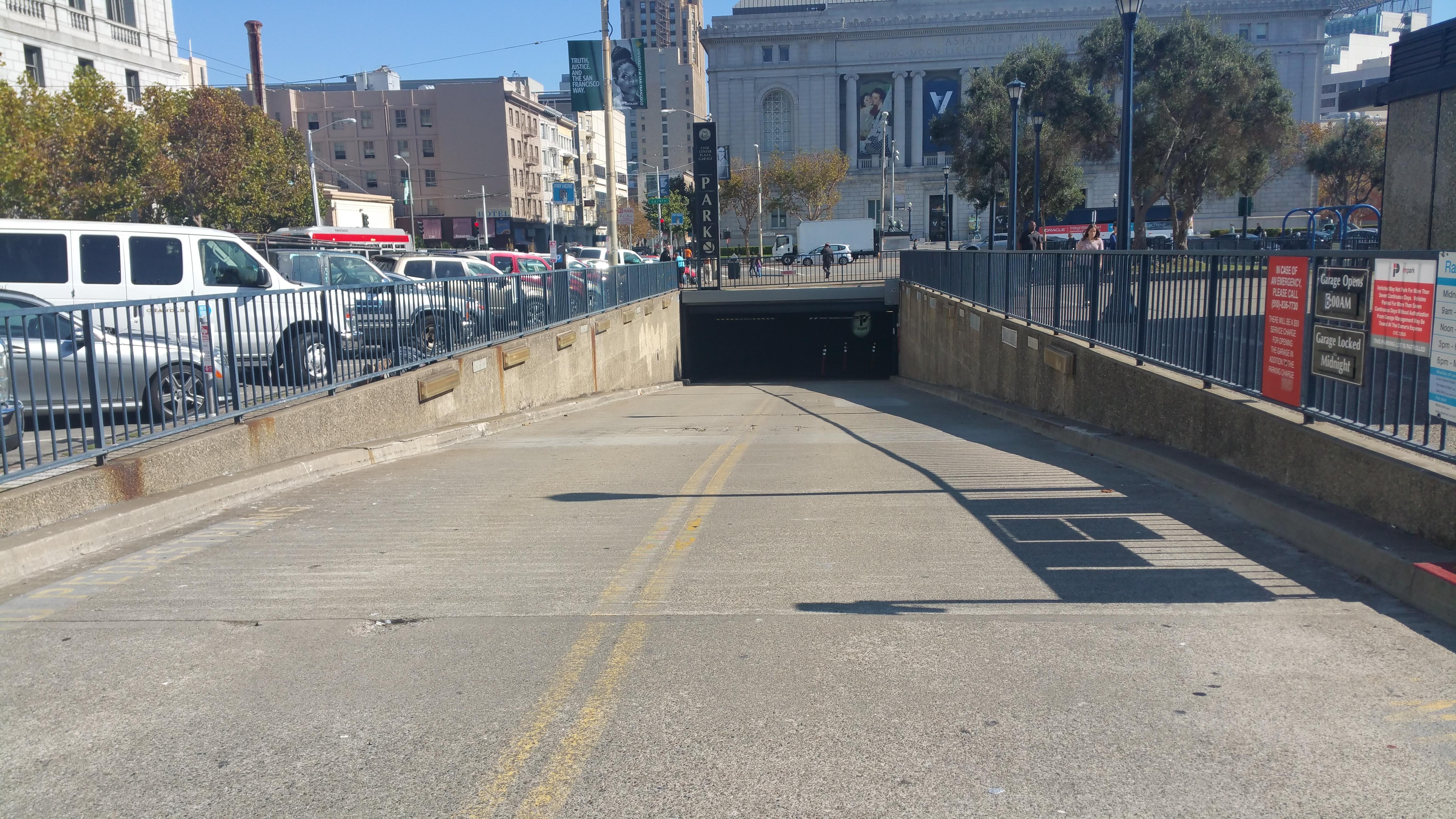 Civic Center Garage: Civic Center Plaza Garage - Parking In San Francisco