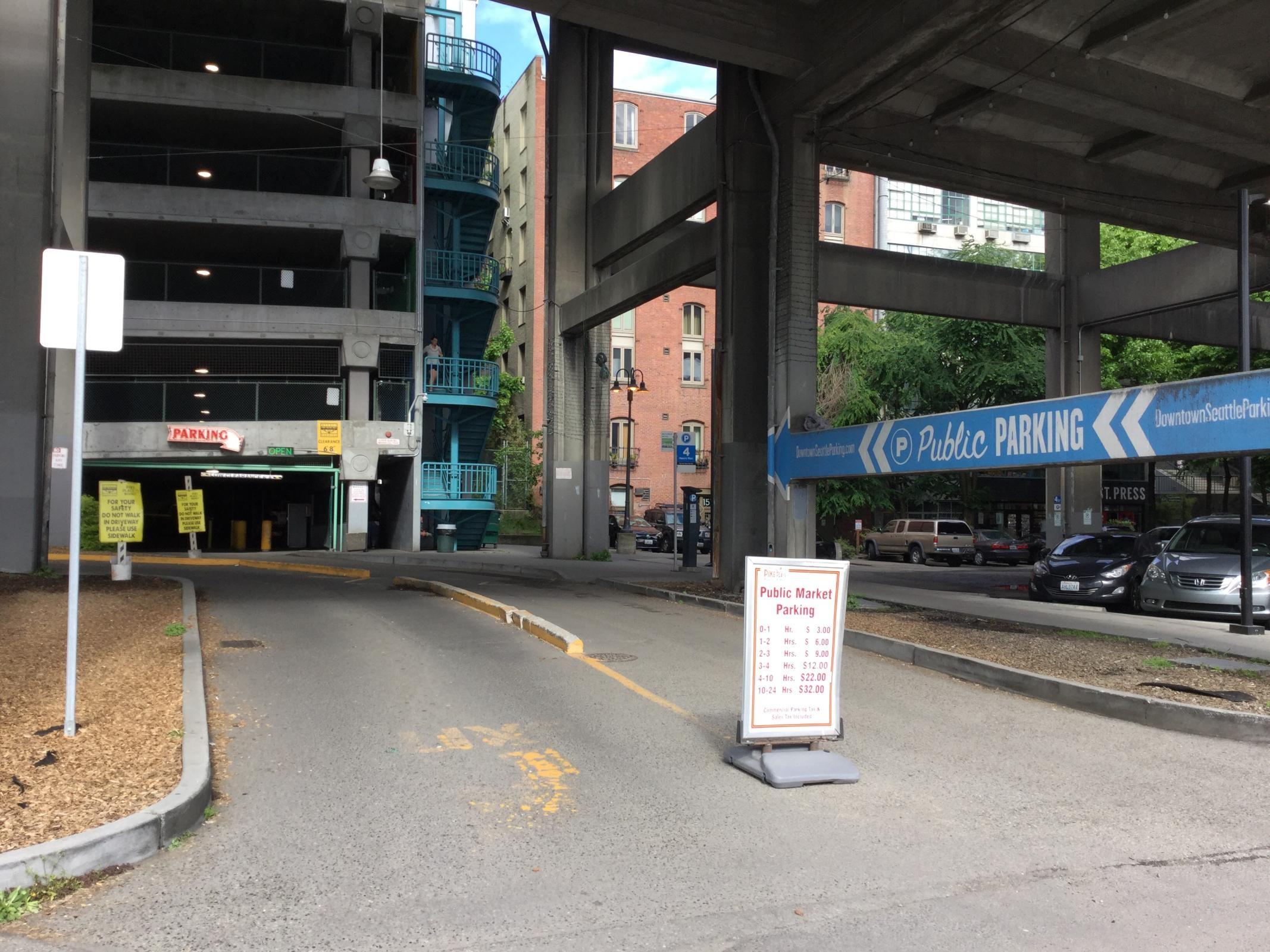 Public Market Parking Garage Parking in Seattle ParkMe