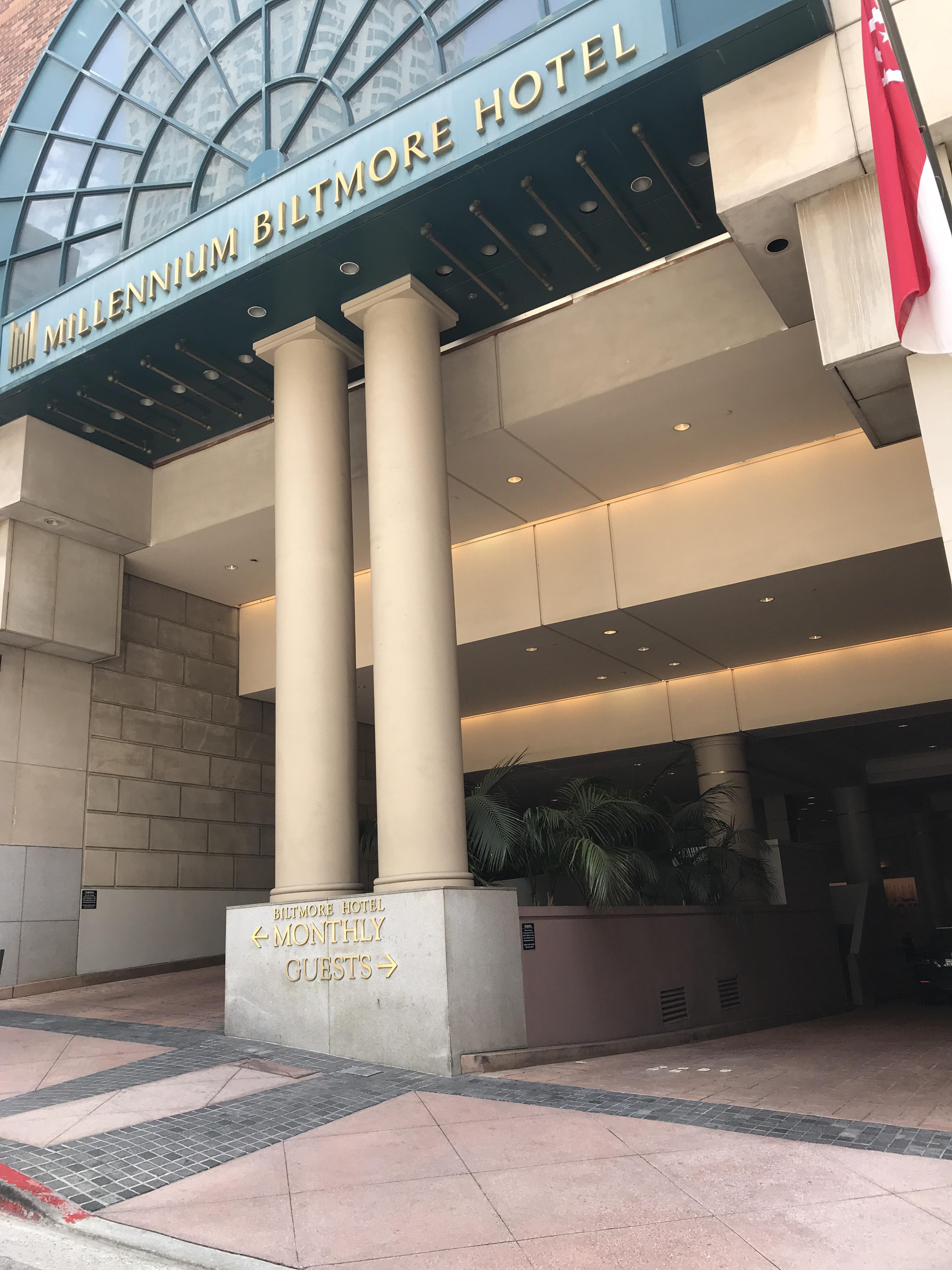 Millennium Biltmore Hotel Parking In Los Angeles Parkme