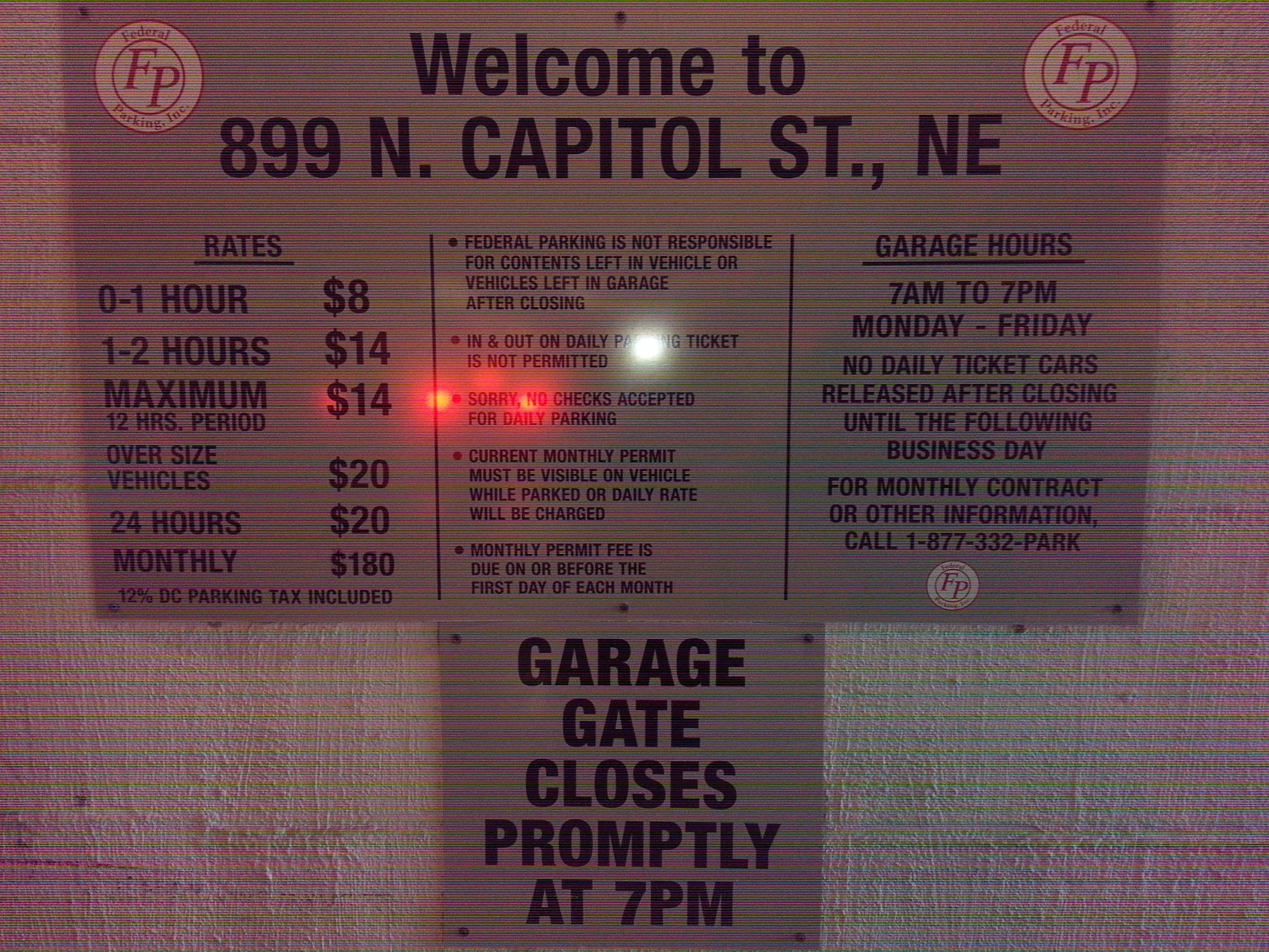 899 north capitol st ne garage parking in washington parkme 20 1betcityfo Images