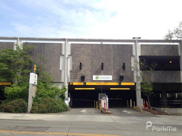 Mercer Street Garage Parking In Seattle Parkme