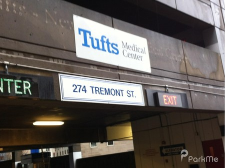Tufts Medical Center Parking