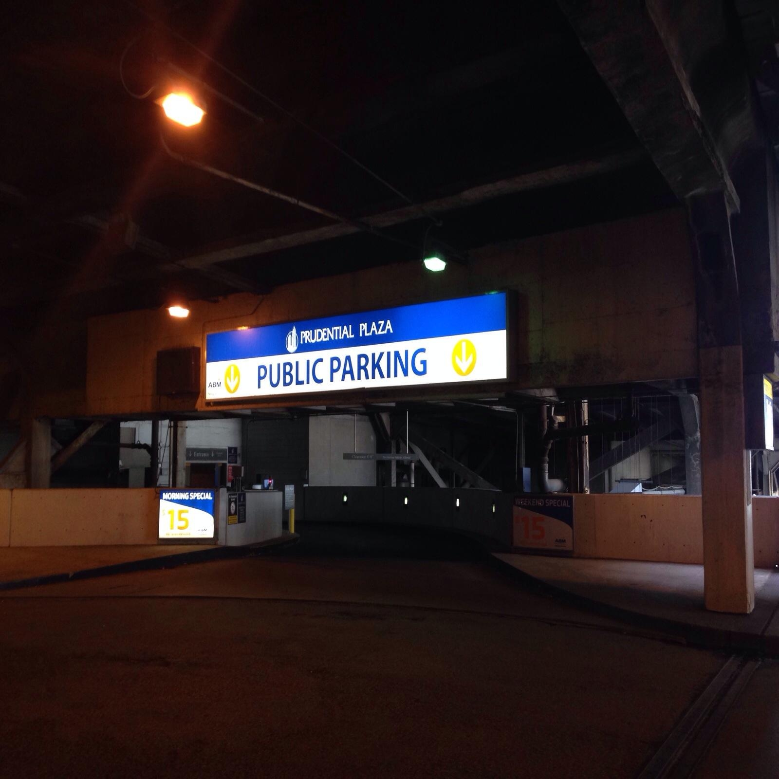 Prudential Plaza Parking