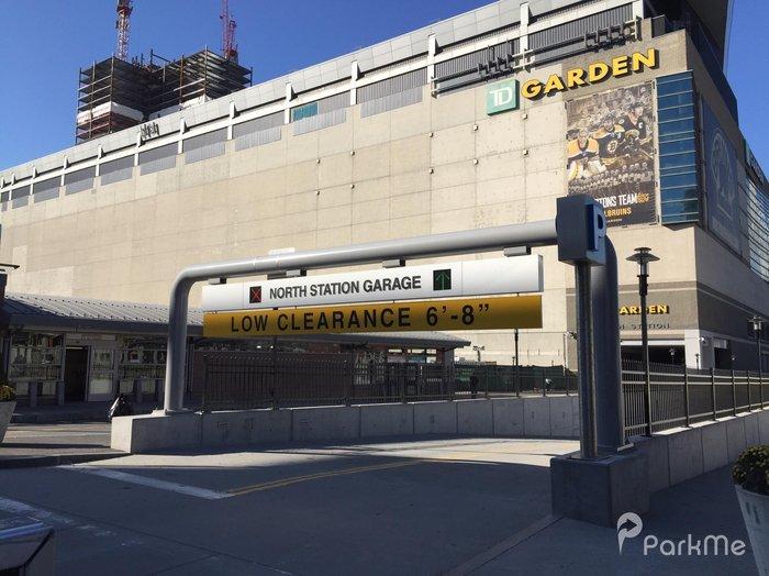 north station garage - Td Garden Boston Mass Address