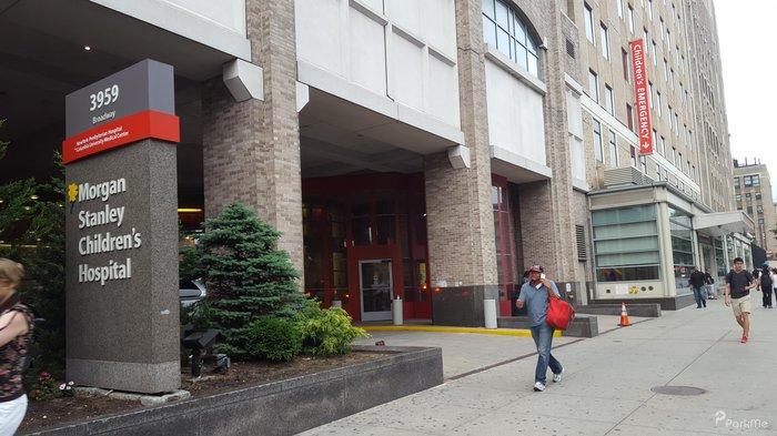 Morgan Stanley Children S Hospital Parking In New York