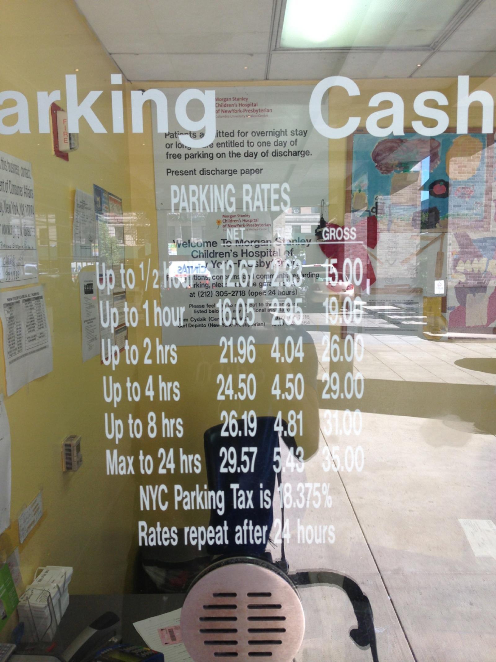 Morgan Stanley Children's Hospital - Parking in New York