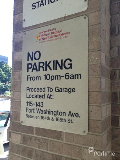 Morgan Stanley Children's Hospital - Parking in New York | ParkMe