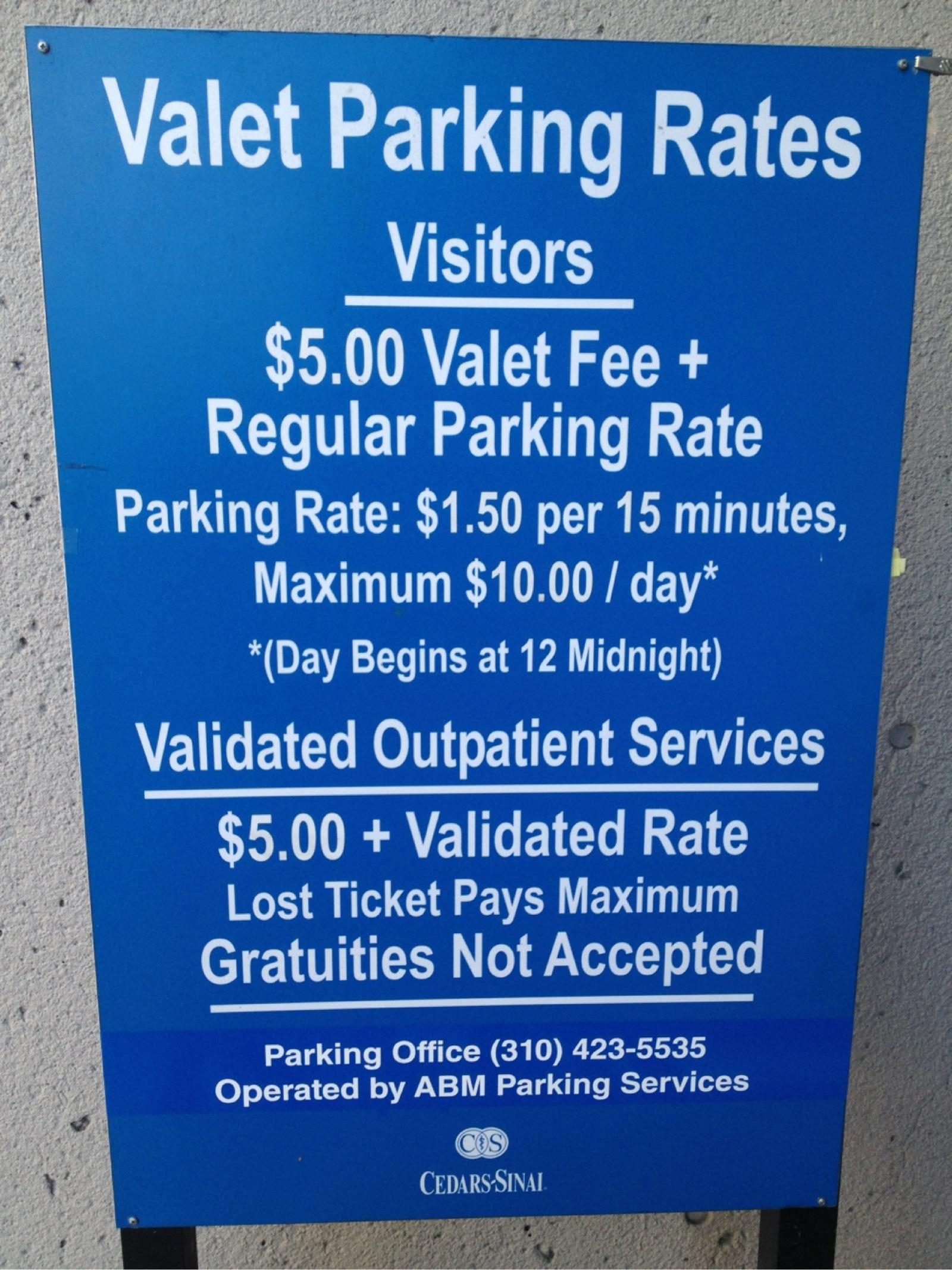 P3 - Cedars-Sinai Medical Center - Parking in Los Angeles