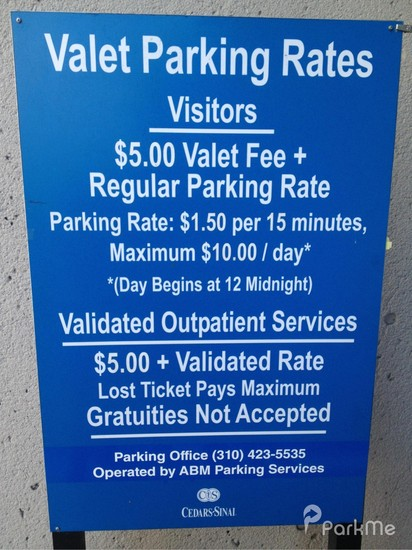 P3 - Cedars-Sinai Medical Center - Parking in Los Angeles | ParkMe