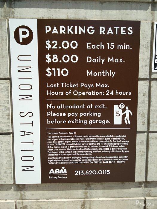 Union Station Parking Parking