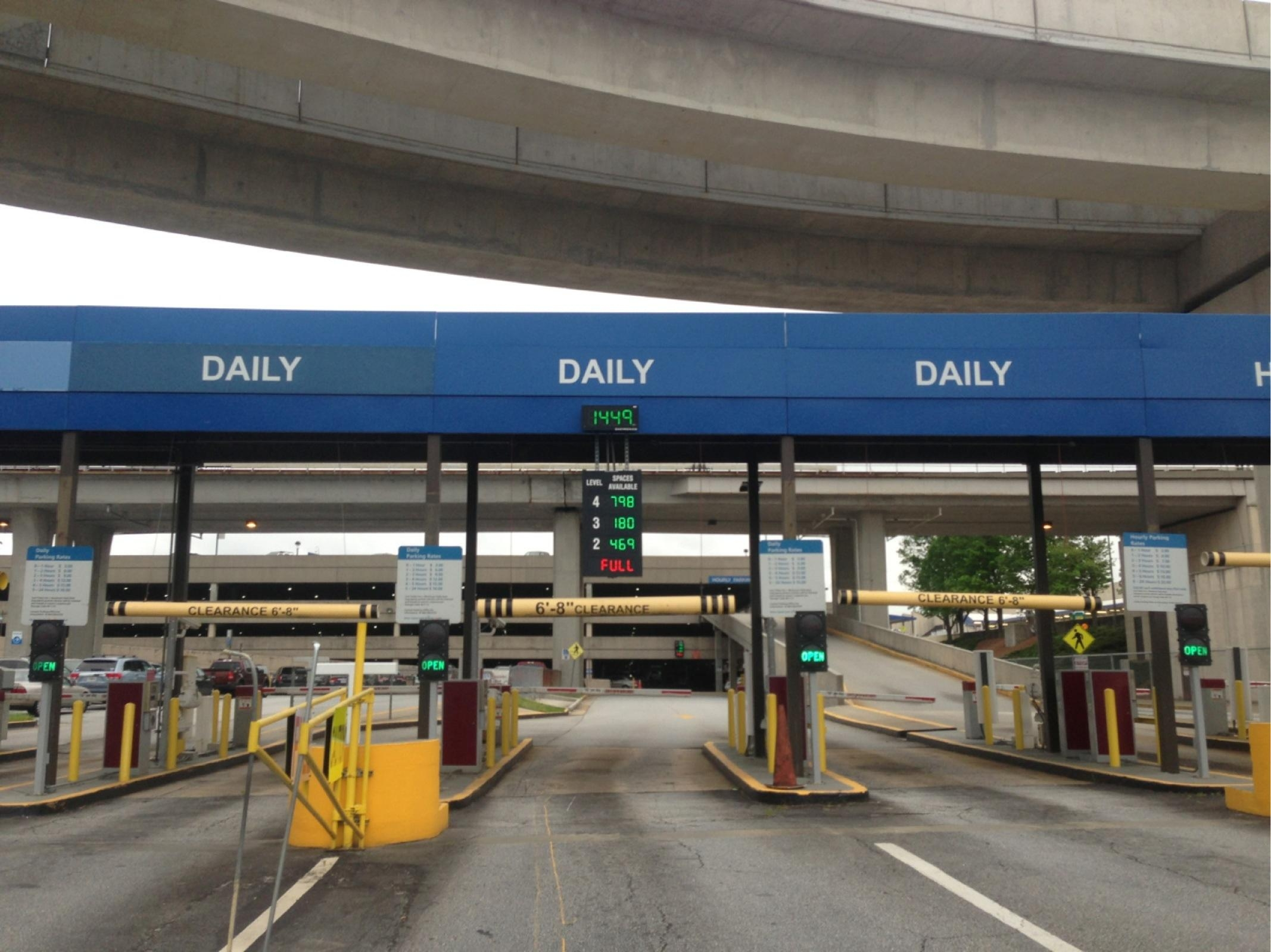 Atl Daily North Parking In Atlanta Parkme