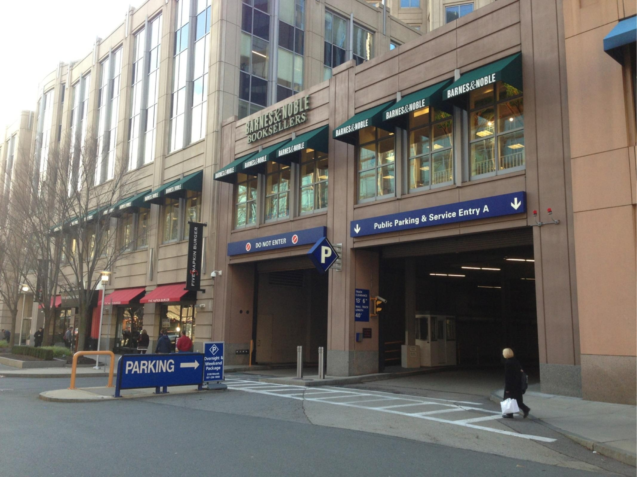Prudential center newark parking rates