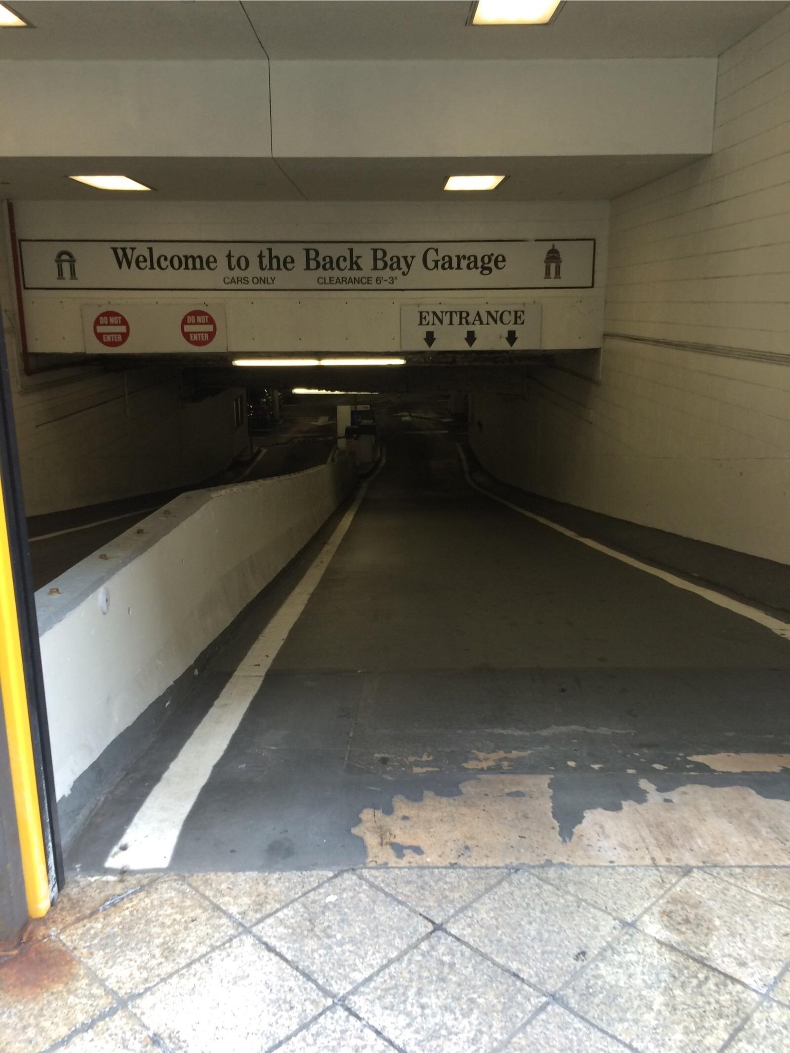 The Back Bay Garage Parking In Boston Parkme