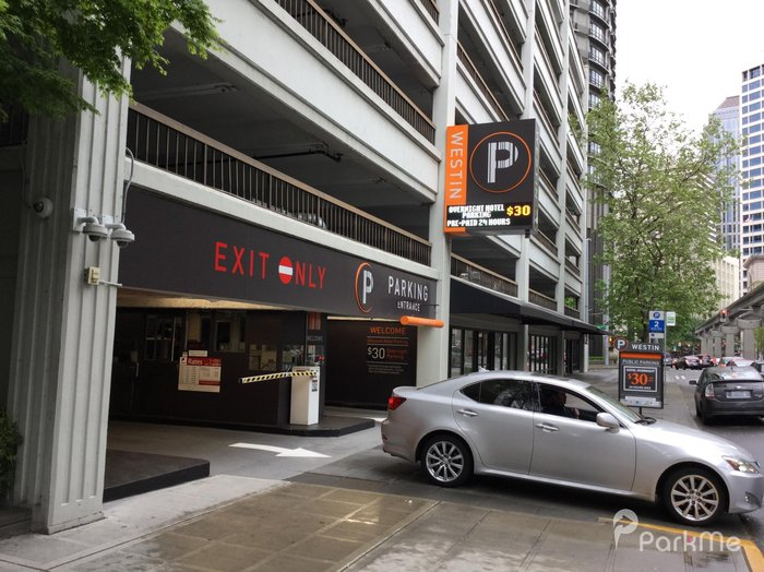 Westin Building Garage Lot 3 Parking In Seattle Parkme