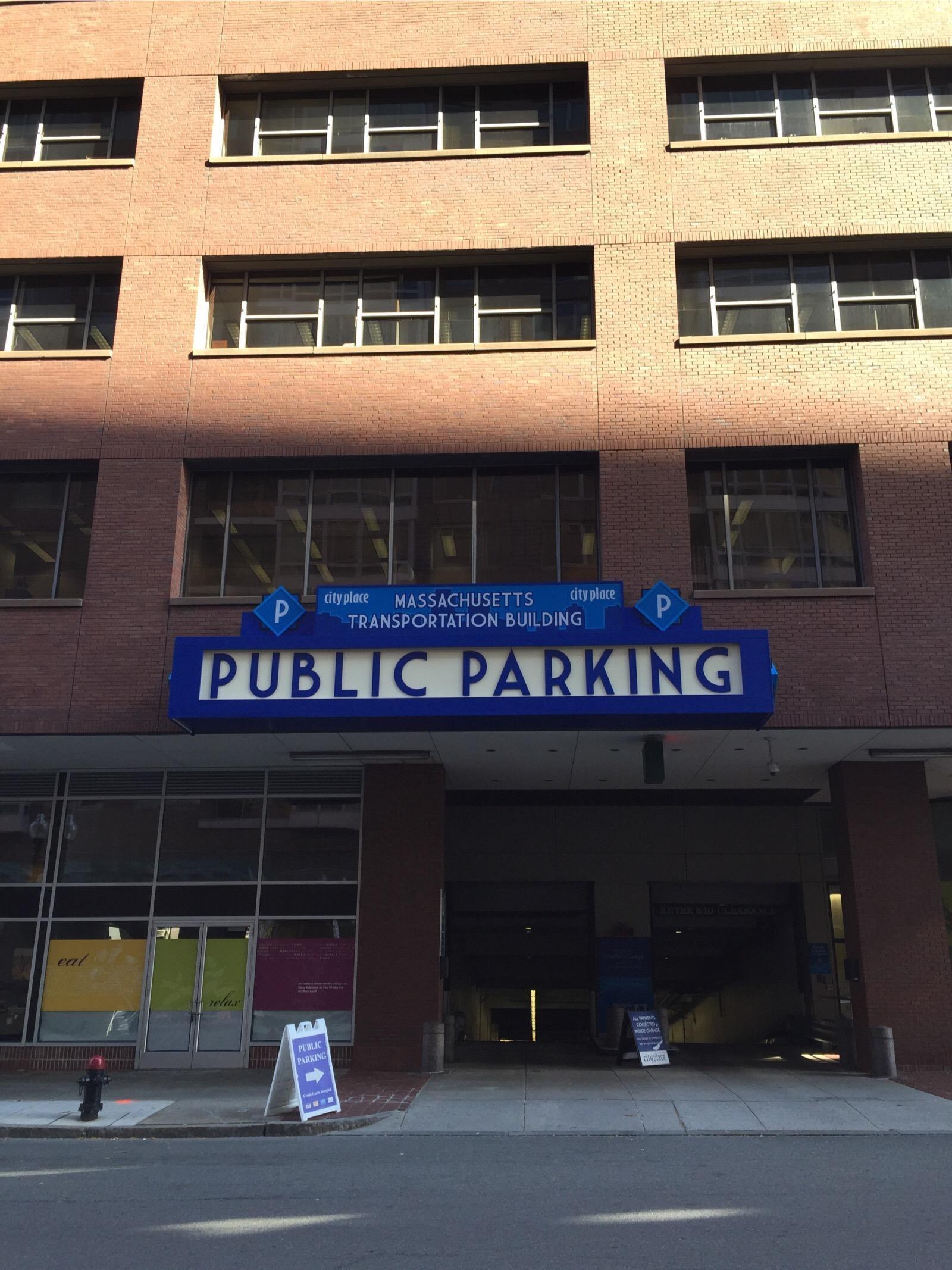 Cityplace Garage Parking In Boston Parkme