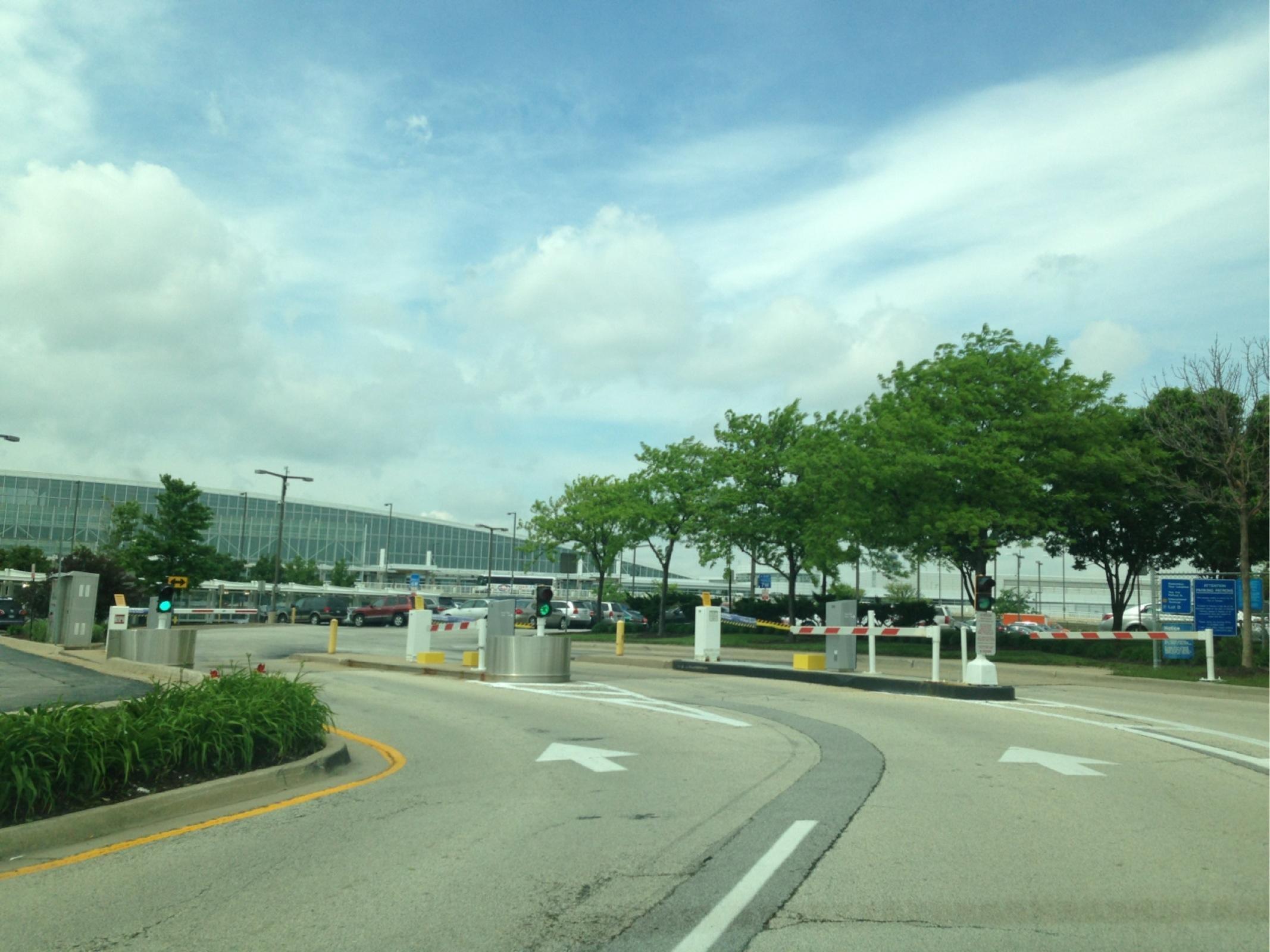 Ord International Short Term Parking Lot D Parking