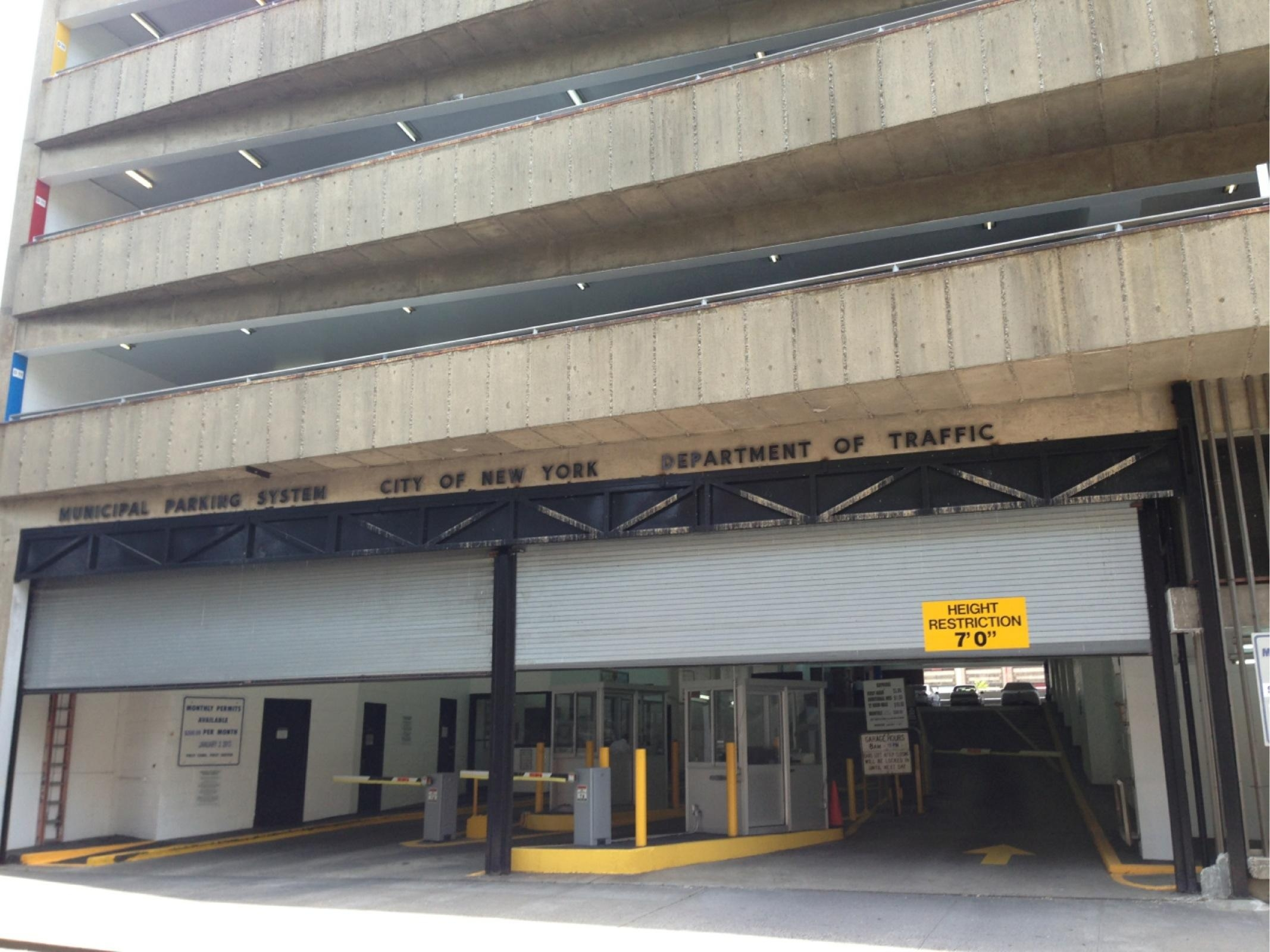 Bay ridge municipal parking garage parking in new york for New york parking garage