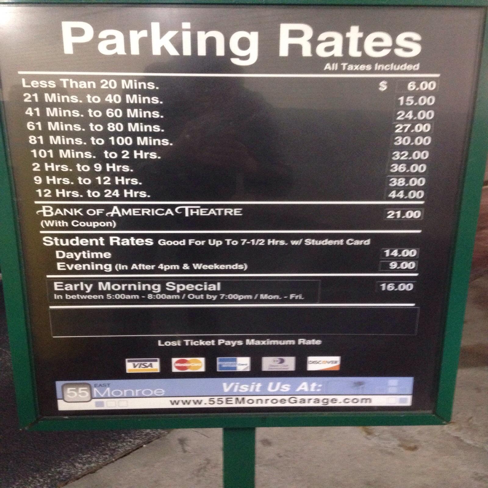 55 East Monroe Garage - Parking In Chicago